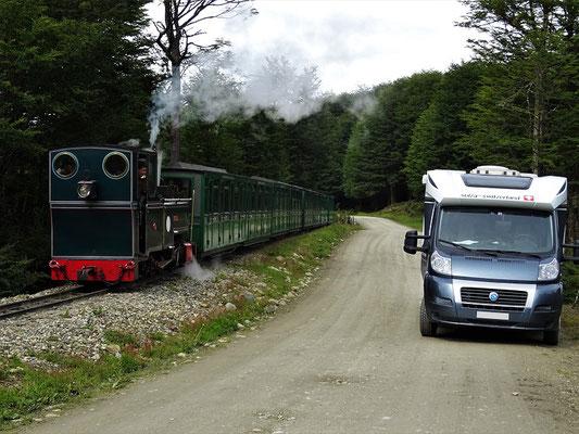 Eisenbahn 'Fin del Mundo' - südlichste Eisenbahn der Welt