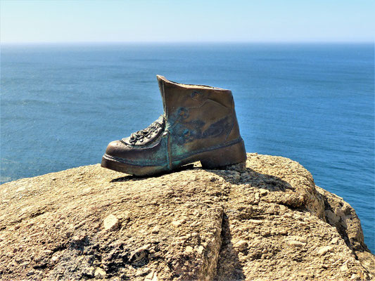 ....und ein Pilger-Schuh