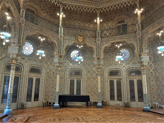 Der glanzvolle Arabische Saal
