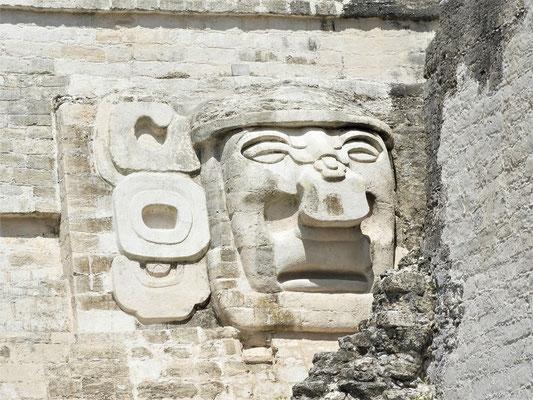 Nachbildung eines Tempelreliefs