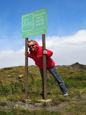 Wanderung zum Mirador Cuernos del Paine