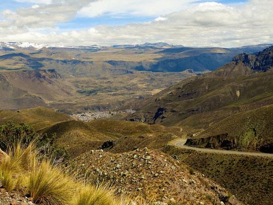 Tief im Tal - auf 3630müM - liegt Chivay