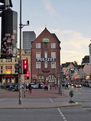 Davids Wache an der Reeperbahn/St.Pauli