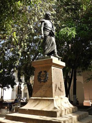 Simón Bolivar - Befreier der Südamerikaner von den Spaniern....