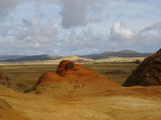 Blick vom Krater