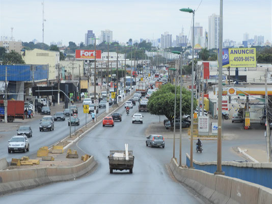 Fahrt durch Cuiabá