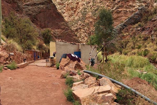 Thermalquelle aus der Inka-Zeit....