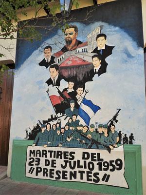 Erinnerung an den Studentenaufstand und das Massaker 1959....