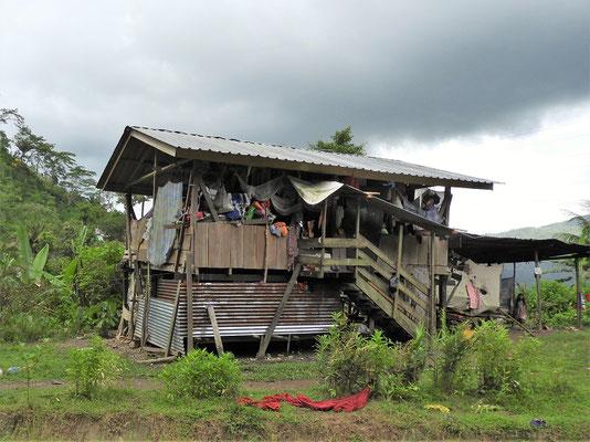 Typische Häuser dieser Gegend