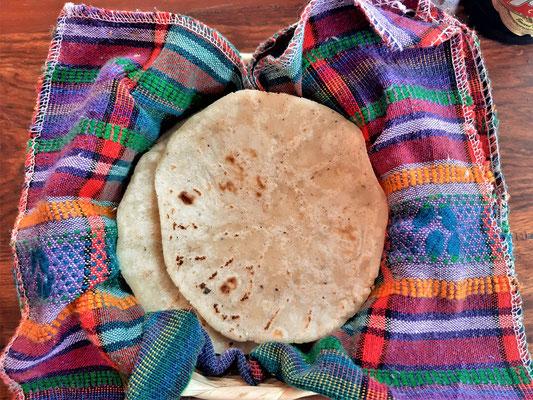 Mais-Tortillas - dürfen in Guatemala bei keinem Essen fehlen