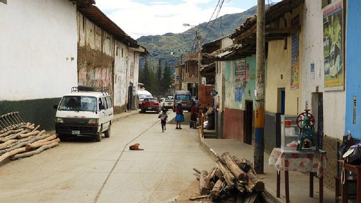 Hauptstrasse in San Luis