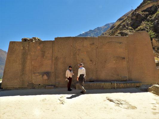 Riesige Monolithen, die vom 6km entfernten Steinbruch hierher geschleppt werden mussten