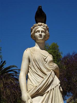 Statue aus Carrara-Marmor