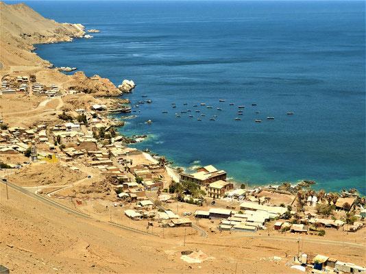 Pisagua - heute leben hier nicht mehr viele Menschen