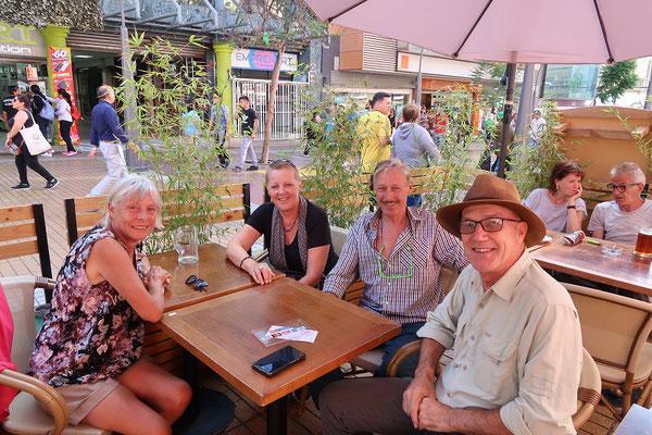 Gemütlicher Nachmittag mit Christine und Felix aus Baden