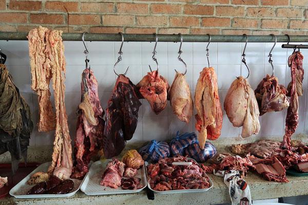 In der Fleischabteilung....