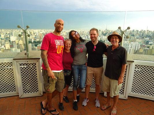 Mike, Cinthya und Thomas