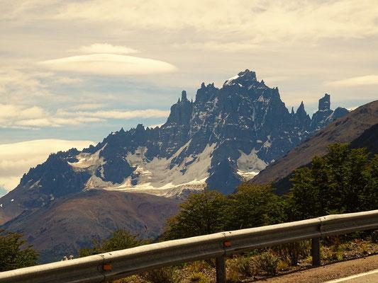 Cerro Castillo mit seinen bizarren Felsformationen