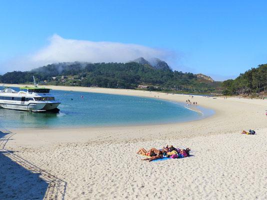 Die schöne Playa de Rodas