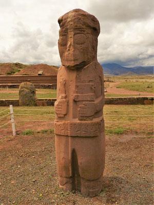 Statue der Krabben-Frau 2.45 m hoch