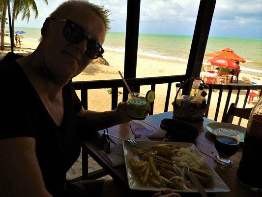 Mittagessen am östlichsten Punkt von Südamerika