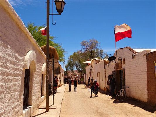Dorfstrasse von San Pedro