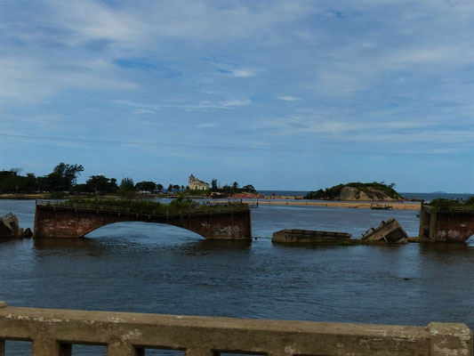 Letzter Blick auf die Küste