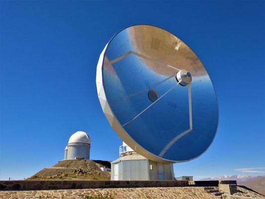 Das einzige Radioteleskop ist inzwischen veraltet und ausser Betrieb