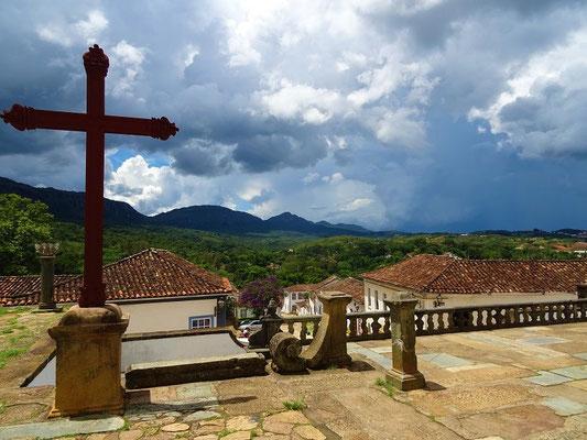 Blick auf die Serra de São José