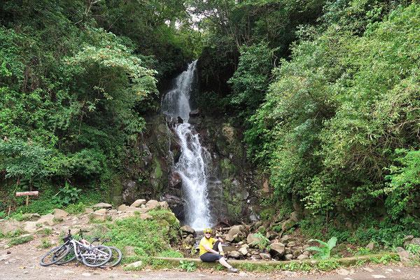 San Ramon Wasserfall auf 1450müM
