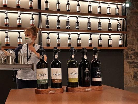 Degustation beim Portwein-Hersteller Calém