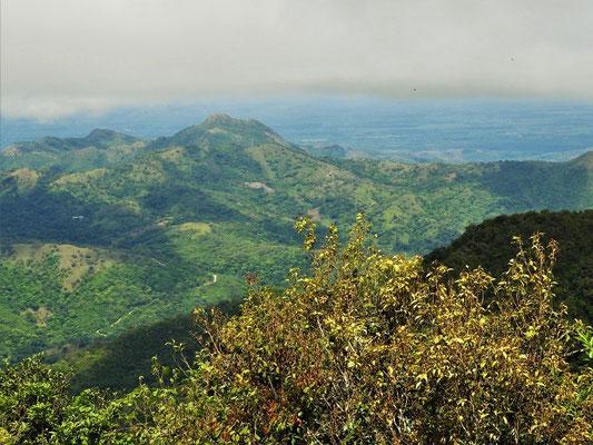 Auf der Passhöhe der Cordillera....