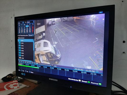 ... und mittels 12 Kameras überwacht