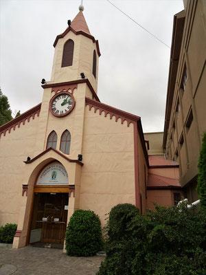 Holzkirche der Salesianer - leider geschlossen :o((