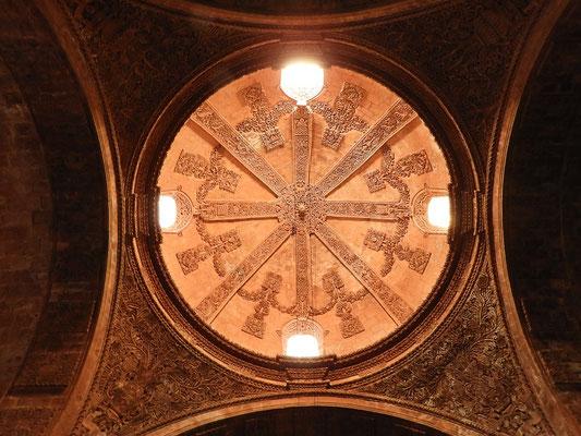 ....Kuppel mit Alabaster-Fenster....