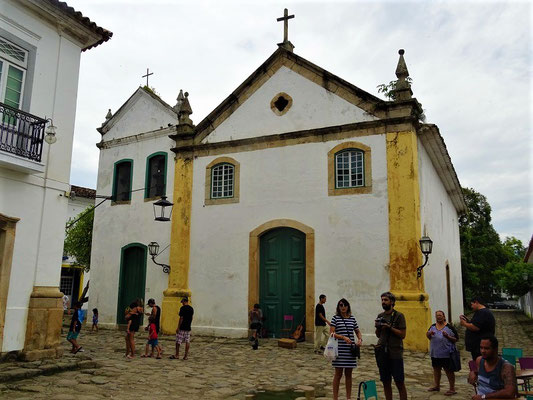 Igreja do Rosário - 1725 von und für die Sklaven errichtet