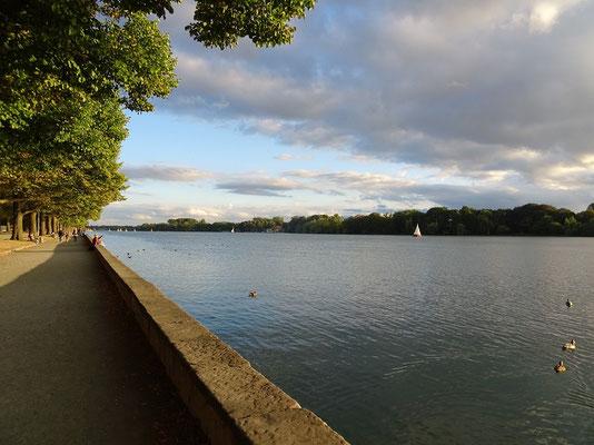Unsere Joggingstrecke um den Maschsee in Hannover