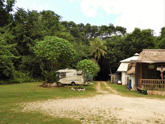 Unser Übernachtungsplatz in Tikal