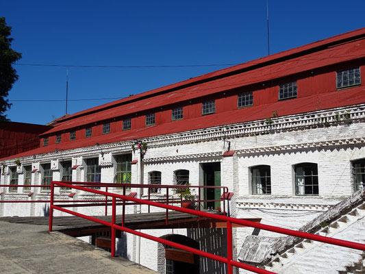 ....inzwischen Museo Revolución Industrial in Frey Bentos - UNESCO Welterbe