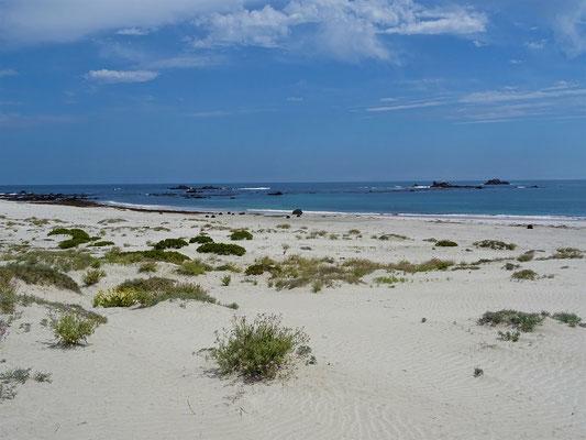 ....im Westen Strand