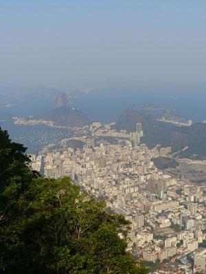 Blick auf Rio mit Zuckerhut