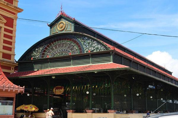 Markthalle von 1882 - Konstruktion von Gustav Eiffel