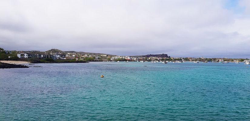 Der Hauptort Puerto Baquerizo