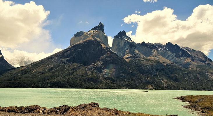 Cuernos del Paine 2600 m hoch