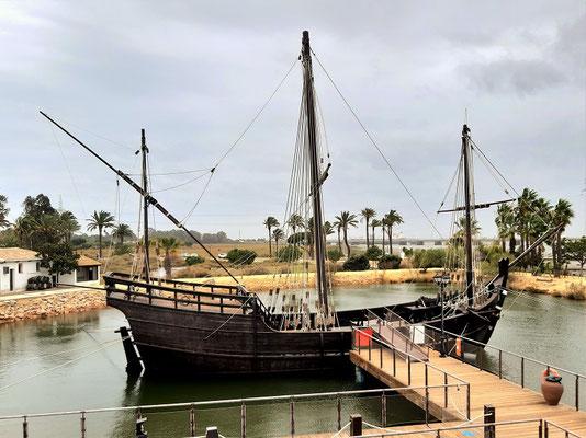 Niña mit 20 m Länge das kleinste der drei Schiffe