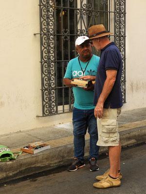 Röbä kauft - gefälschte aber geschmacklich gute - Monte Christo Zigarren