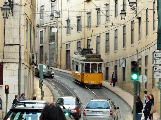 Die berühmten 'Trämli' von Lissabon....