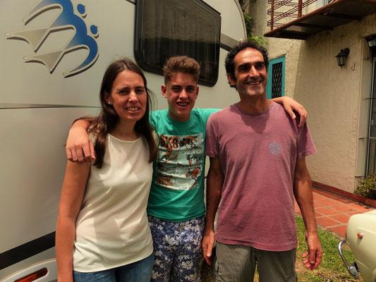 Maria, Nico und Danilo