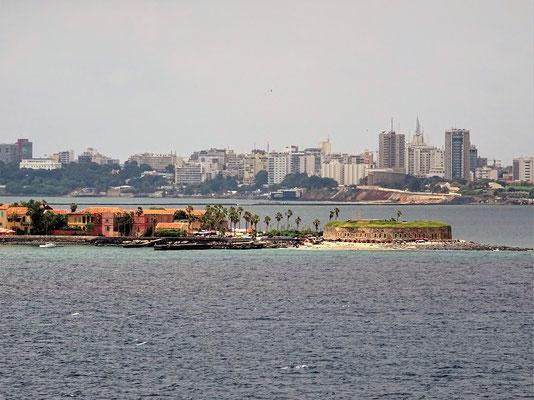 Insel Gorée vor Dakar