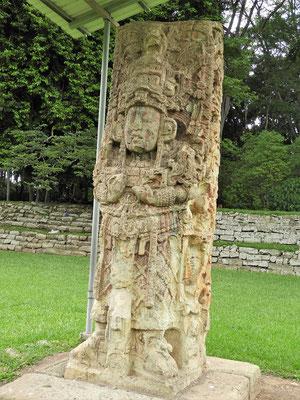 König Waxaklajuun Ub'aah K'awiil - bekannt als König 18 Kaninchen - war der bedeutendste Herrscher des Maya-Stadtstaates Copán.